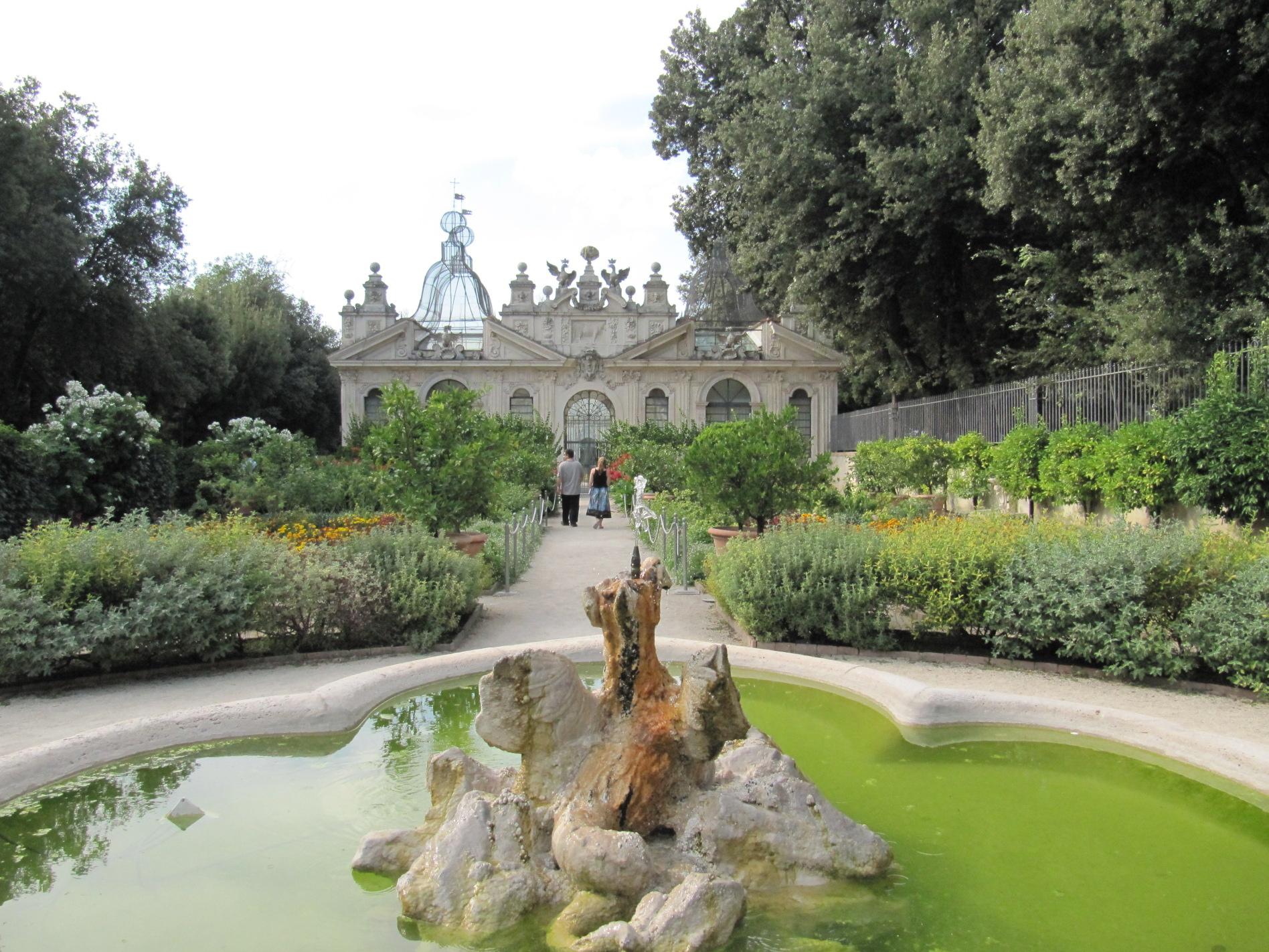 I giardini segreti di villa borghese giardino dei fiori - Il giardino dei fiori segreti ...